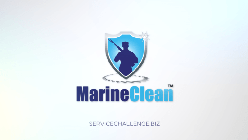 Animated promo video for MarineClean